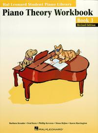Piano Theory Workbook - Book 3 Edition (Music Instruction)Hal Leonard Student Piano Library【電子書籍】[ Fred Kern ]