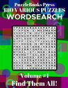 PuzzleBooks Press - WordSearch - Volume 1180 Various Puzzles - Find Them All 【電子書籍】 PuzzleBooks Press