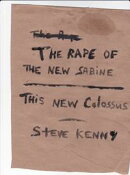 The Rape of the New Sabine/This New Colossus