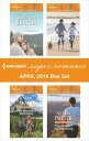 Harlequin Superromance April 2018 Box SetIn a Heartbeat Her Mountain Sanctuary Practicing Parenthood The Soldier 039 s Homecoming【電子書籍】 Janice Kay Johnson