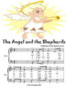 Angel and the Shepherds - Easy Piano Sheet Music Junior Edition
