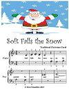 Soft Falls the Snow - Beginner Tots Piano Sheet Music