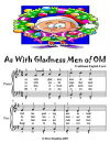 As With Gladness Men of Old - Easy Piano Sheet Music Junior Edition