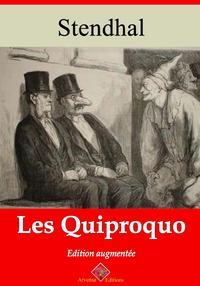 Les quiproquoNouvelle ?dition enrichie   Arvensa Editions【電子書籍】[ Stendhal ]