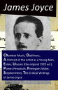 The Collected Works of James Joyce: Chamber Music Dubliners A Portrait of the Artist as a Young Man Exiles Ulysses (the original 1922 ed.) Pomes Penyeach Finnegans Wake Stephen Hero The Critical Writings of James Joyce【電子書籍】