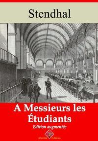 ? messieurs les ?tudiantsNouvelle ?dition enrichie | Arvensa Editions【電子書籍】[ Stendhal ]