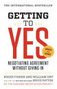 Getting to YesNegotiating Agreement Without Giving In