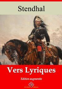 Vers lyriquesNouvelle ?dition enrichie   Arvensa Editions【電子書籍】[ Stendhal ]