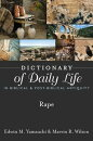 Dictionary of Daily Life in Biblical & Post-Biblical Antiquity: Rape