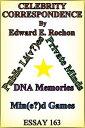Celebrity Correspondence【電子書籍】 Edward E. Rochon