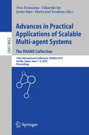 Advances in Practical Applications of Scalable Multi-agent Systems. The PAAMS Collection