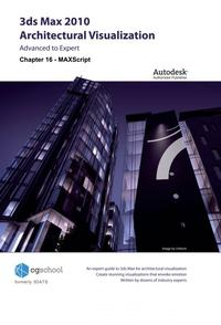 Chapter 16 - MAXScript (3ds Max 2010 Architectural Visualization)【電子書籍】[ CGschool (Formerly 3DATS) ]