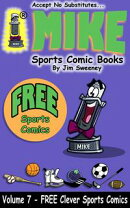 MIKE FREE Book on Clever Sports Comics
