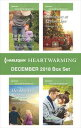 Harlequin Heartwarming December 2018 Box SetThe Rancher 039 s Homecoming Her Heart 039 s Bargain Christmas at Prescott Inn Family by Design【電子書籍】 Anna J. Stewart