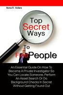 Top Secret Ways To Find People