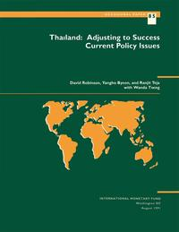 Thailand: Adjusting to Success: Current Policy Issues【電子書籍】[ David Mr. Robinson ]