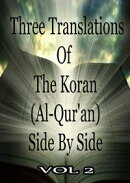 Three Translations Of The Koran Vol 2