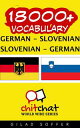 18000+ Vocabulary German - Slovenian
