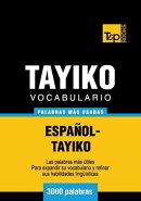 Vocabulario espa���ol-tayiko - 3000 palabras m���s usadas