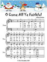 O Come All Ye Faithful - Easiest Piano Sheet Music Junior Edition【電子書籍】[ Silver Tonalities ]