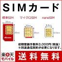 SIMカード(事務手数料)【楽天モバイル】 【送料無料】【SIMフリー】【iPhone・And...