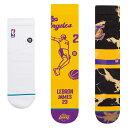 STANCE(スタンス)Los Angeles Lakers スペシャルパック NBAカジュアルコレクション ソックス / ロサンゼルス・レイカーズ