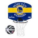Spalding(スポルディング)NBA ゴールデンステート・ウォリアーズ マイクロミニボード / Golden State Warriors バスケットボール ゴ..
