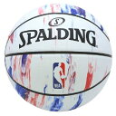 Spalding(スポルディング) NBA LOGO マーブル バスケットボール 7号球 / 7号
