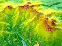 ジオラマ地図火打山【立体地図】【百名山】【新潟】