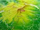 ジオラマ地図四阿山【立体地図】【百名山】【群馬】【長野】