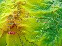 ジオラマ地図乗鞍岳【立体地図】【百名山】【長野】【岐阜】