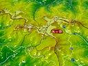 ジオラマ地図美ヶ原【立体地図】【百名山】【長野】