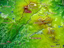 ジオラマ地図蓼科山【立体地図】【百名山】【長野】