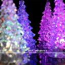 光るミニクリスマスツリー 7色に光る アクリルツリー 卓上サイズ クリスマスイブ クリスマス プレゼント クリスマスツリー サンター l..