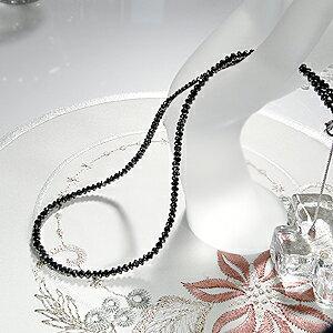 K18WG ブラックダイヤモンドネックレス 30ct AAA ブラックダイヤ メンズ レディース ファッション ジュエリー アクセサリー ネックレス ホワイトゴールド ダイヤモンド ギフト プレゼント 誕生石