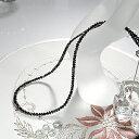 K18WG ブラックダイヤモンドネックレス 30ct AAA ブラックダイヤ メンズ レディース ファッション ジュエリー アクセサリー ネック..