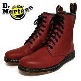 ポイント10倍【Dr.Martens ドクターマーチン】DM's LITE NEWTON 8EYEBOOT 8ホールブーツ(21856600) チェリーレッド メンズシューズ 革靴 カジュアル ビジネス 紳士靴【02P01Oct16】