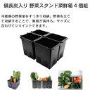 菜鮮箱4個組 野菜スタンド 備長炭入り BS30 野菜スタンド菜鮮箱4個組 キッチンツール キッチン