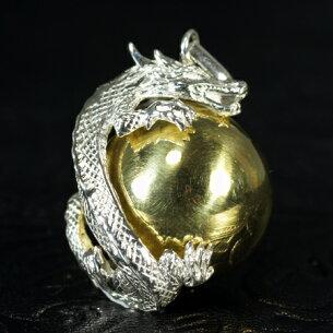 ガムラン ドラゴン シルバー ペンダント