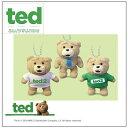 【TED テッド マスコット キーチェーン 】 テッドグッズ ぬいぐるみ ボールチェーン キャラクター くま クマ 景品 2次会 結婚式 キーホルダー ぬいぐるみ マスコット ストラップ 携帯 ぬいぐるみストラップ 人形 Ted2 テッド2 テディベア—