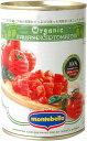 ショッピングトマト モンテベッロ オーガニックダイストマト/有機ダイストマト400g