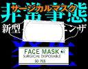 新型インフルエンザ・パンデミック感染予防マスク不織布3層医療用サージカルマスク50枚入不織布 3層 医療用マスク インフルエンザ高性能フィルター使い捨て マスク