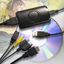 Android対応HDビデオキャプチャー RP-HDVC1 コンポジット/Sビデオ出力搭載のVHS、8mmカメラ、ゲーム機や、HDMI出力搭載のDVD、Bru-ray、PS4などの映像をフルHDでパソコンに録画!スマートフォンにも録画可能。【メーカー1年保証】【RCP】rpup2