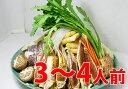 【送料無料】ボリューム満点♪『カニちゃんこ鍋セット 野菜付』3〜4人分★※北海道・沖縄は別途送料かかります。【あす楽】