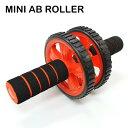 MINI AB ROLLER ミニアブローラー 腹筋ローラー ダイエット 筋力トレーニング 筋トレ エクササイズ 背筋 胸筋 二の腕 男女兼用