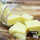 オーガニック・ローカカオバター 1kg ペルー産 有機JAS...