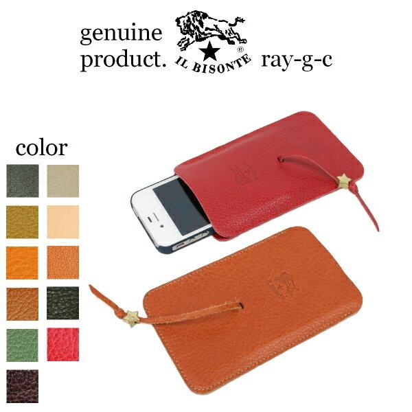 【 IL BISONTE * イルビゾンテ 】 【 iphoneケース 携帯電話ケース 】…...:ray-g-cast:10001076