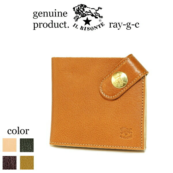 IL BISONTE 財布 財布 定番 コーナースナップコンパクトウォレット5412305240 レディース 2015 standard
