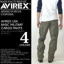 AVIREX (アビレックス アヴィレックス) AVIREX USA BASIC MILITARY CARGO PANTS カーゴパンツ アーミー 迷彩 メンズ 【RCP】