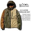 MANASTASH マナスタッシュ 2.5LAYER PRIMA100 JACKET PRIMALOFT PERTEX ZAMZA フーデッドジャケット 716...